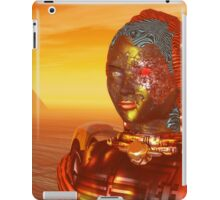 CYBORG ARES IN THE DESERT OF HYPERION Sci Fi Movie iPad Case/Skin