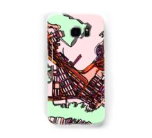 Abstract Map of East Boston Samsung Galaxy Case/Skin