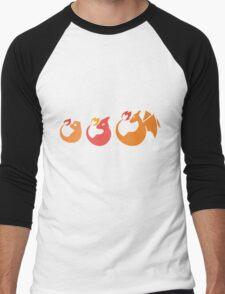 Fire Family Men's Baseball ¾ T-Shirt