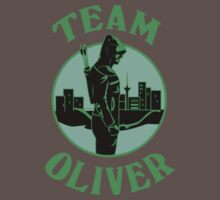 Team Oliver. Oliver Queen. One Piece - Short Sleeve
