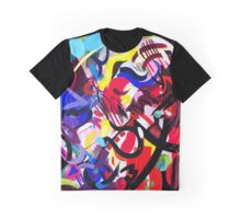 Psych Abstract Graphic T-Shirt