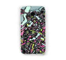 Abstract Map of Somerville Samsung Galaxy Case/Skin