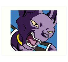 Beerus god of destruction Art Print