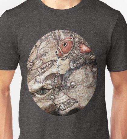 The Wolf Princess Unisex T-Shirt