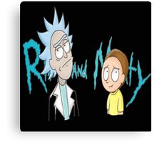 rick and morty ford Canvas Print