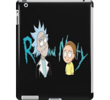 rick and morty ford iPad Case/Skin