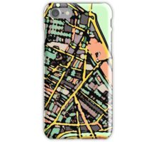 Abstract Map of Cambridge (MA) iPhone Case/Skin