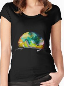 Reach for the bug stars Women's Fitted Scoop T-Shirt