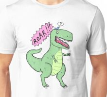 Trex and bird Unisex T-Shirt