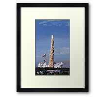 Power Play - Space Shuttle Atlantis STS 117 Framed Print