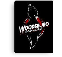 Visit Woodsboro! Canvas Print