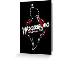 Visit Woodsboro! Greeting Card