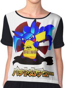 Pokemon Bat Pikachu Chiffon Top