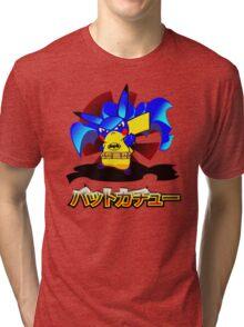Pokemon Bat Pikachu Tri-blend T-Shirt