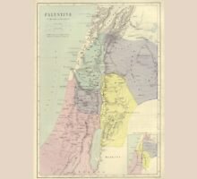 Vintage Map Of Palestine (Early 20th Century) T-Shirt