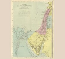 Vintage Map Of The Sinai Peninsula (Early 20th Century) T-Shirt