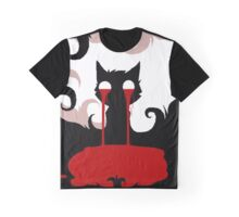 EMO- Nosebleed ing cat Graphic T-Shirt
