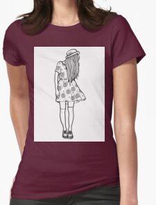 BW Hipster Girl T-Shirt