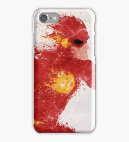 Flash Dc comics iPhone Case/Skin
