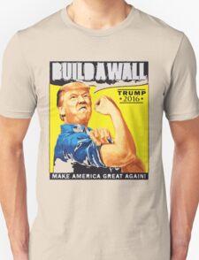 Donald Trump T-shirt,Builda Wall T-Shirt