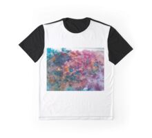 Abstrakte Kunst mit wasserfarbe Graphic T-Shirt