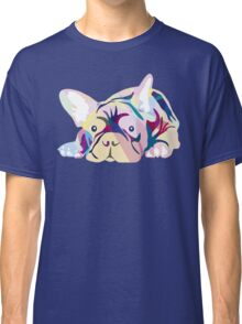 Frenchie Pink French Bulldog Classic T-Shirt