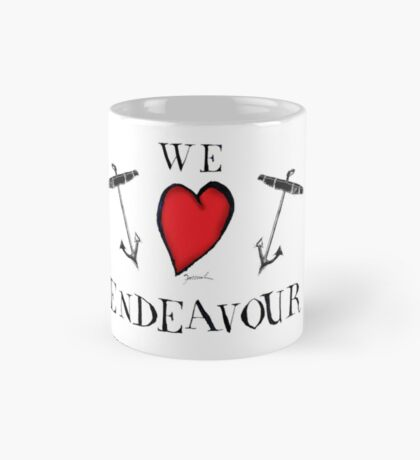 we love endeavour, tony fernandes Mug