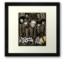 TOP SELLING COVER BEST HISTORY by MY CHEMICAL ROMANCE Framed Print