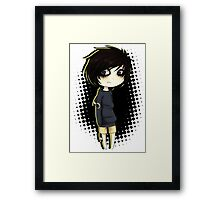 EMO- Under Grey Skies Framed Print