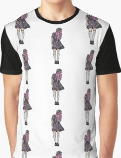 Pale Hipster Girl Graphic T-Shirt