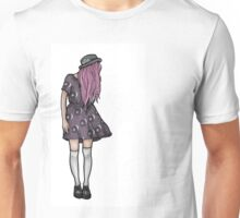 Pale Hipster Girl Unisex T-Shirt