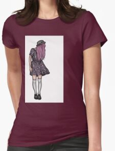 Pale Hipster Girl T-Shirt