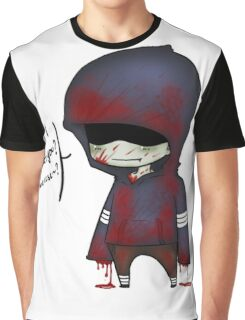 EMO- Funny Zombie Graphic T-Shirt
