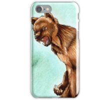 Hanimal Mode 11- Grizzly iPhone Case/Skin