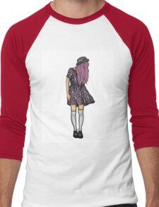 Fair Hipster Girl Men's Baseball ¾ T-Shirt