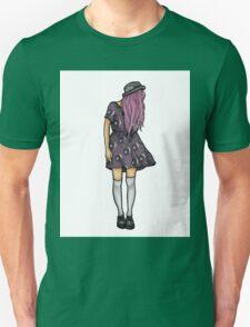Fair Hipster Girl Unisex T-Shirt