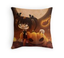 EMO- Halloween Costume Outfit Throw Pillow