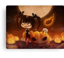 EMO- Halloween Costume Outfit Canvas Print