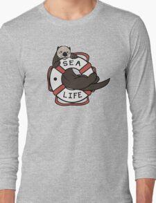 Sea Life: Otter Long Sleeve T-Shirt