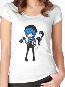 EMO- Weird Earthlings Women's Fitted Scoop T-Shirt