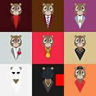 Kanye West - Album Bears by Teecolz