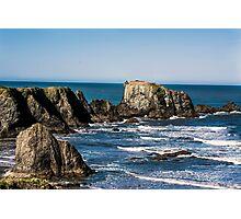 Bandon Beach, Oregon Coast Photographic Print