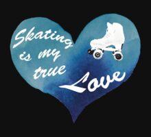 Skating True Love Baby Tee