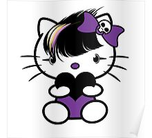 EMO- Cute Kitty Poster