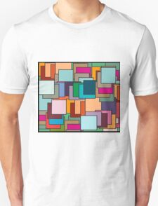 Patch  patchwork abstract  pattern  Unisex T-Shirt