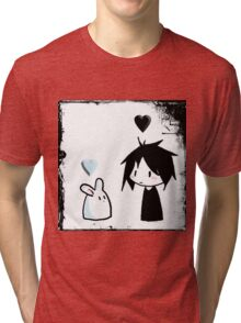 EMO- Best friends For Life Tri-blend T-Shirt