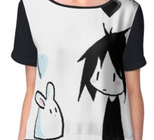 EMO- Best friends For Life Chiffon Top