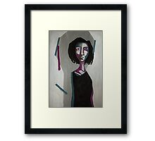 Self-portrait Framed Print