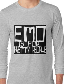 EMO- Pretty People Inside Out Long Sleeve T-Shirt