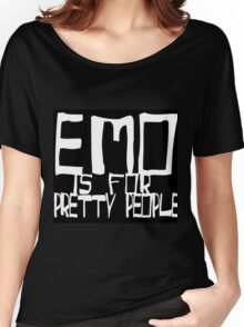 EMO- Pretty People Inside Out Women's Relaxed Fit T-Shirt